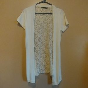 Maurices womans sz med short sleeve sweater